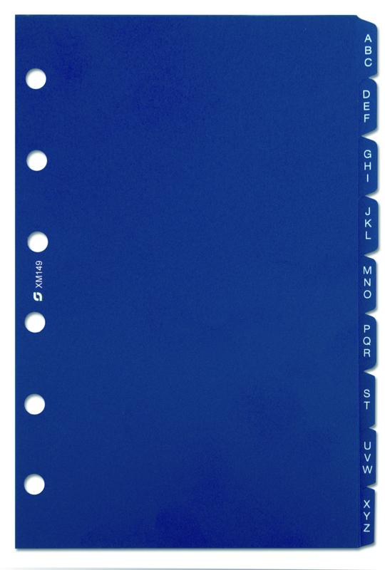 Succes Mini Alfabet, 9-Delig, Synthetisch, Blauw (XM149)