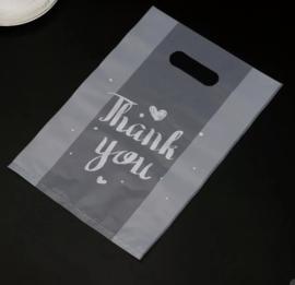 Doorzichtige tas Thank You