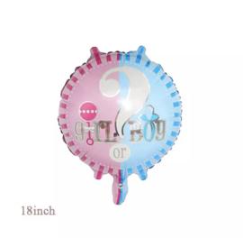 He or she ballon / slinger