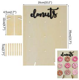 Bord voor donuts