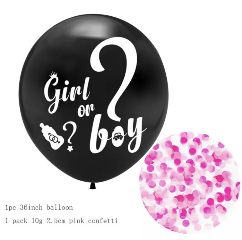 Ballon he or she