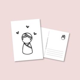 Postkaart - Babyjongen