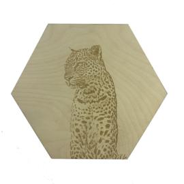 Hexagon luipaard