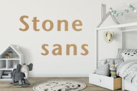 Stone sans