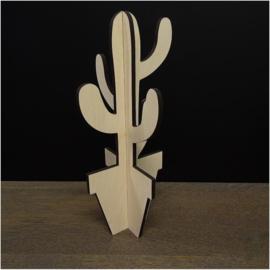 Houten cactus: Cinga