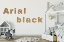 Arial black
