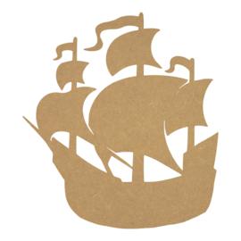 MDF piraten schip