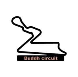 Buddh circuit op voet