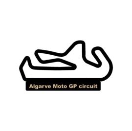 Algarve moto GP circuit op voet