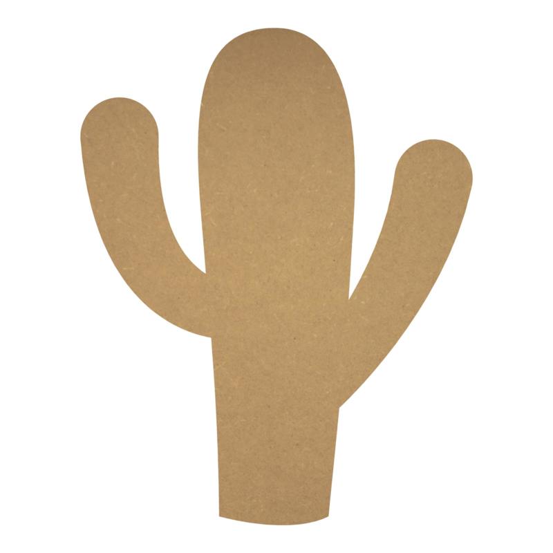 MDF cactus 6