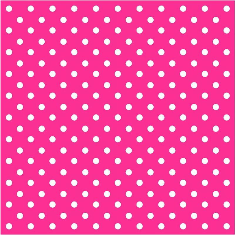 Roze met witte stippen