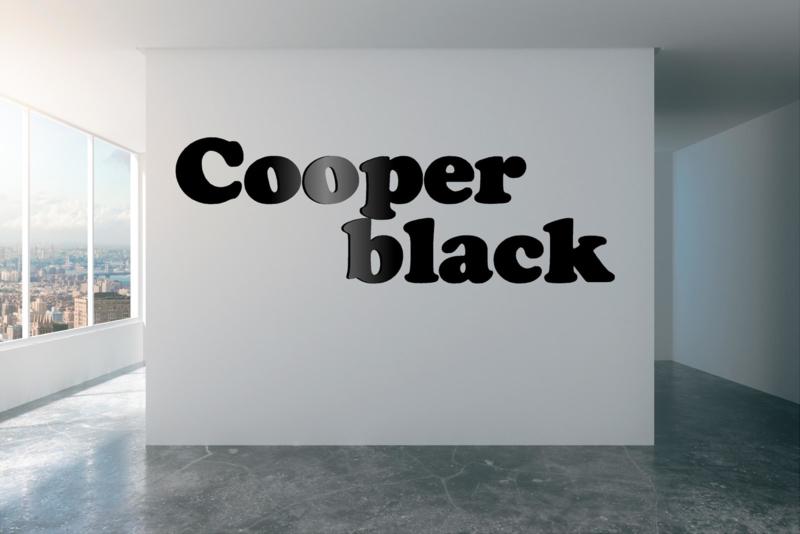 Cooper black