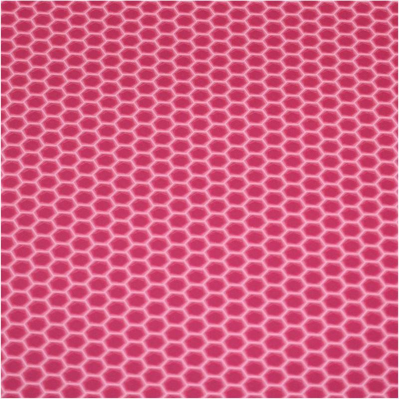 Roze honingraat