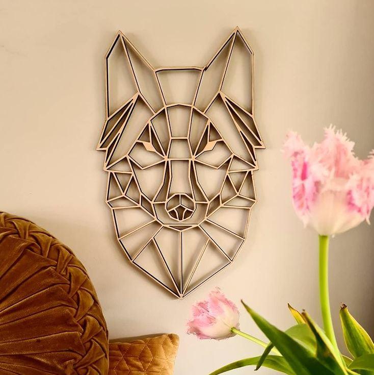 Geometrische wolf