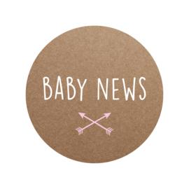 Sluitzegel baby news meisje