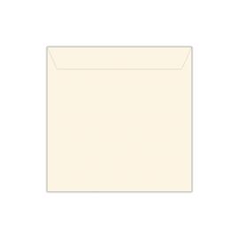 Envelop roomwit | 14 x 14 cm