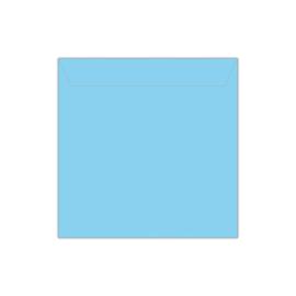 Envelop babyblauw | 14 x 14 cm