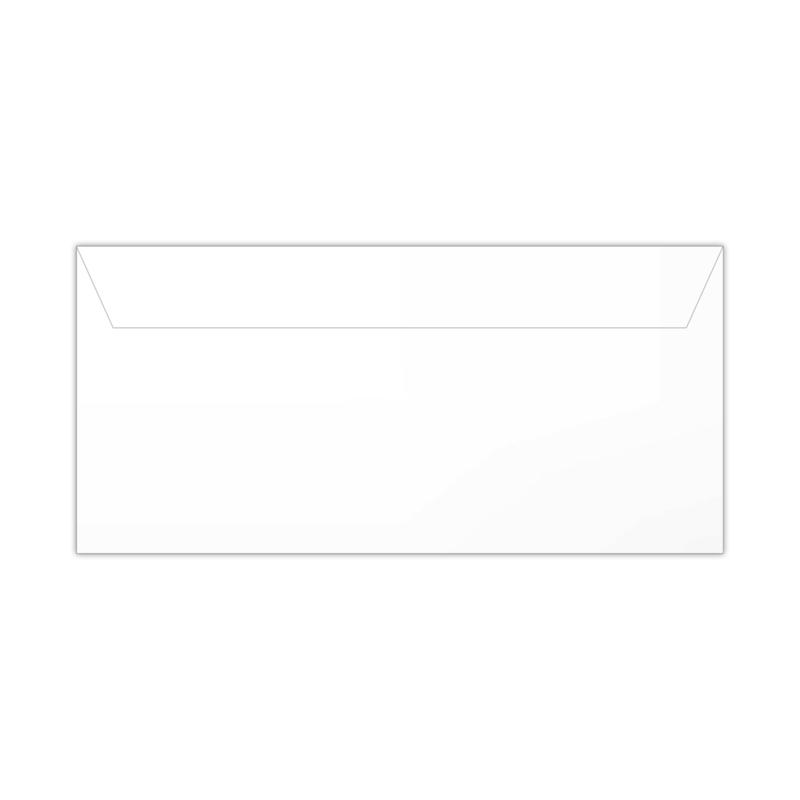 Envelop wit | 11 x 22 cm