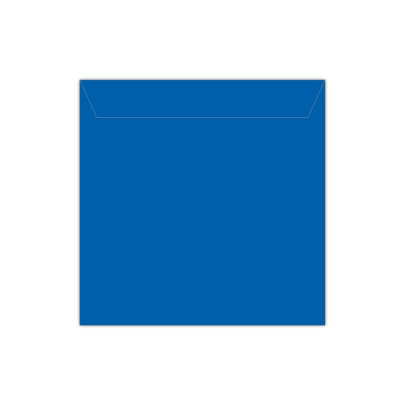 Envelop koningsblauw   14 x 14 cm