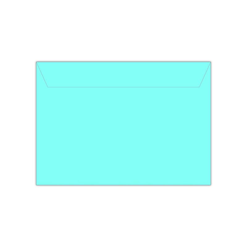 Envelop babyblauw | 11,4 x 16,2 of 15,6 x 22 cm