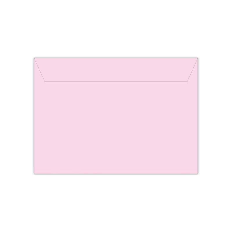 Envelop babyroze | 11,4 x 16,2 of 15,6 x 22 cm