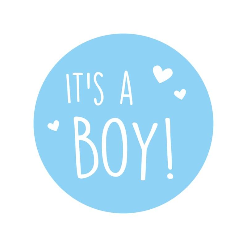 Sluitzegel it's a boy