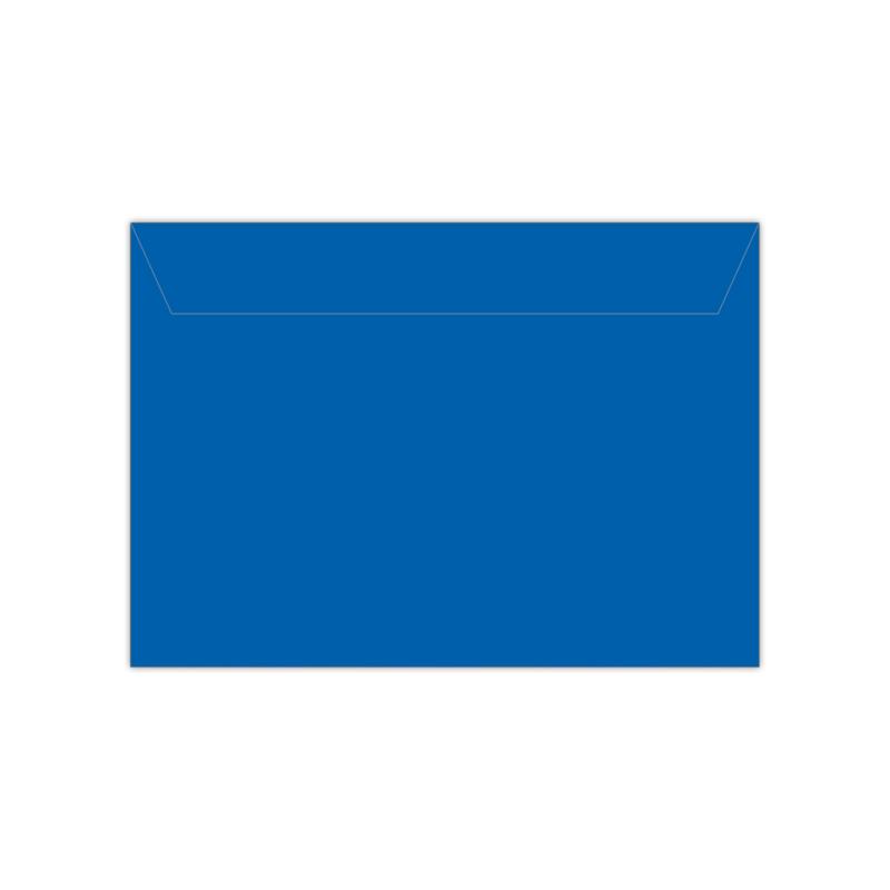 Envelop koningsblauw   11,4 x 16,2 of 15,6 x 22 cm
