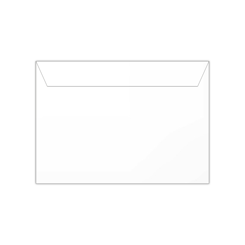 Envelop wit | 11,4 x 16,2 of 15,6 x 22 cm