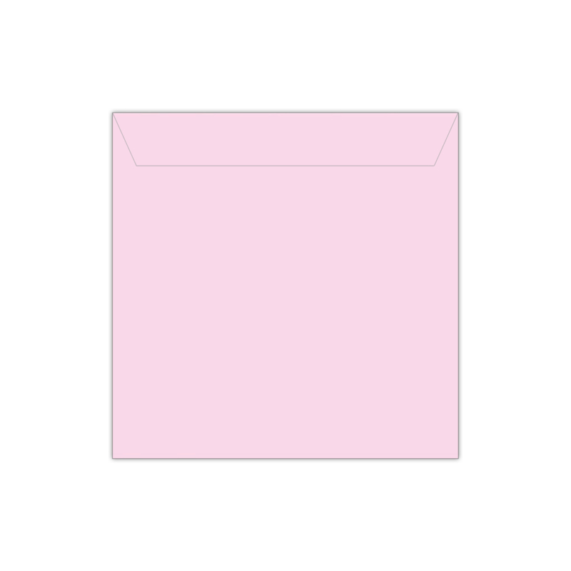 Envelop babyroze | 14 x 14 cm
