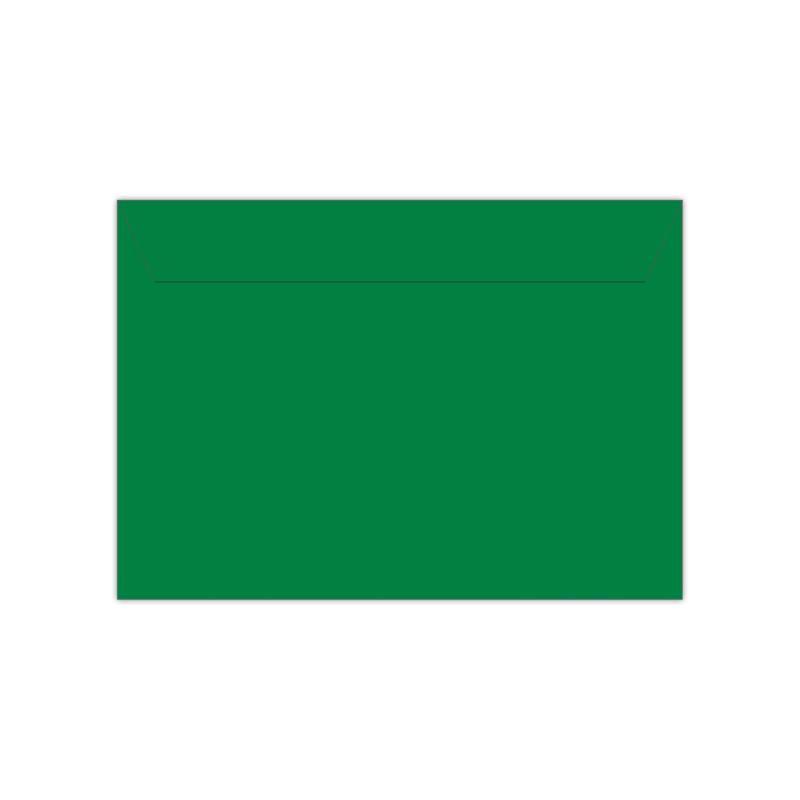 Envelop donkergroen   11,4 x 16,2 of 15,6 x 22 cm