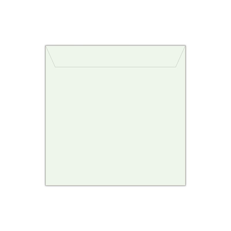 Envelop mintgroen | 14 x 14 cm