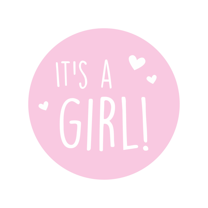 Sluitzegel it's a girl