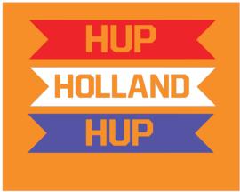 Raambanners Hup Holland Hup 3 kleur