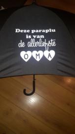 Allerliefste oma paraplu