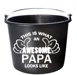 this is wat an awesome papa looks like