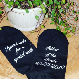 Special socks_father of the bride