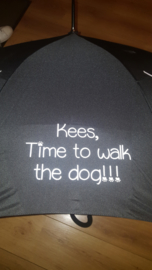 ....time to walk the dog