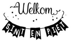 Welkom Sint en Piet slinger