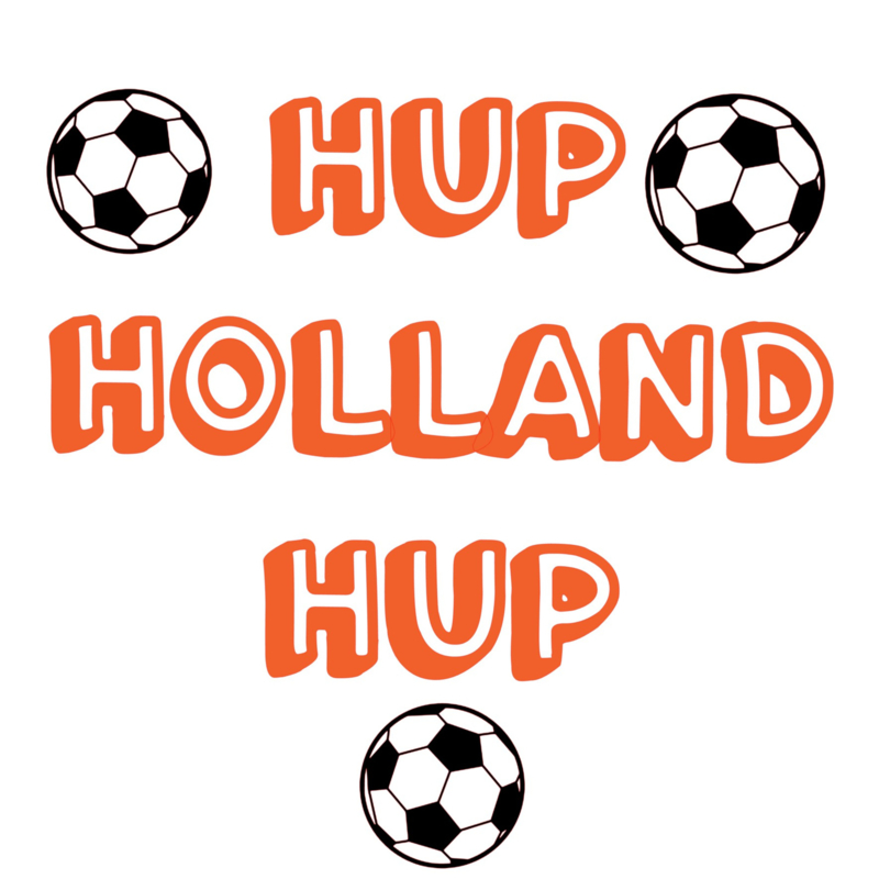 setje hup holland hup incl. 3 voetballen