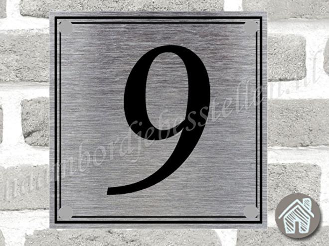 huisnummer bordje