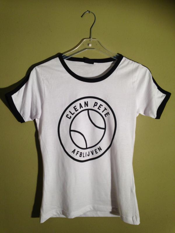 Dames ringer t-shirt