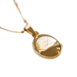 Lennebelle | Nest Locket | Necklace Plated Gold
