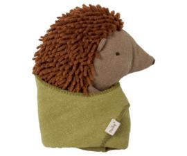Maileg | Baby hedgehog with leaf