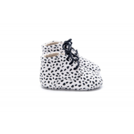 Mockies Classic Boots | Speckle white