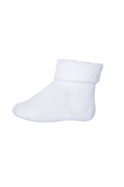 MP Denmark | Ankle Cotton Plain Socks | 01 White