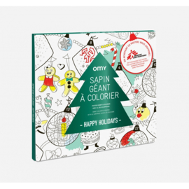 OMY   Giant Coloring Poster   Happy Holidays