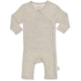 Konges Sløjd | New Born Onesie Deux | Caramel Mini Dots