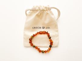 Grech & Co   Baltic Amber   Children's Bracelet   Fierce