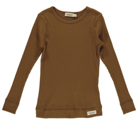 MarMar Copenhagen | Plain Tee LS | Leather