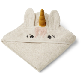 Liewood | Augusta Hooded Towel | Unicorn Sandy